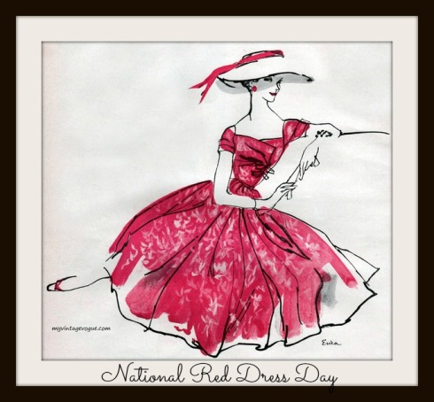 national red dress day