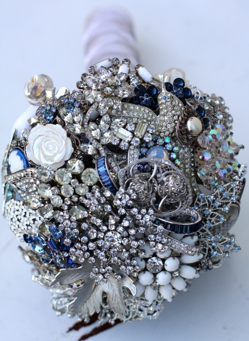 Custom Brooch Bouquet