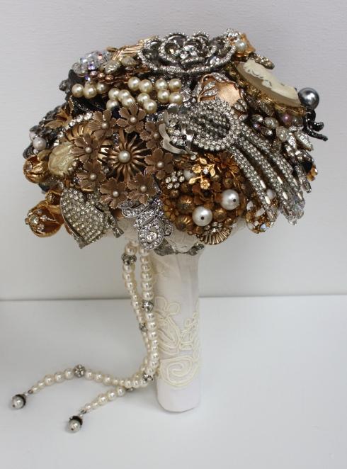 Nicole's Brooch Bouquet