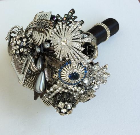 boudoir brooch bouquet