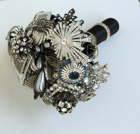 boudoir brooch bouquet