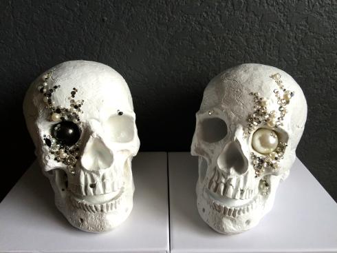 Bride & Groom Skulls